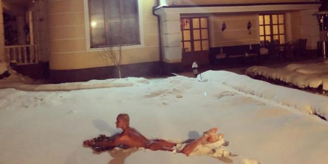Волочкова поделилась фото 31 декабря.