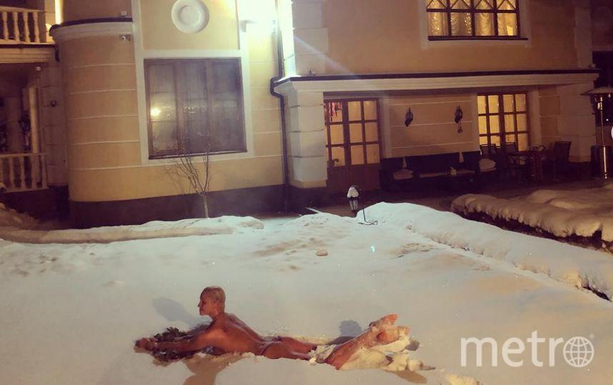 Волочкова поделилась фото 31 декабря. Фото instagram.com/volochkova_art