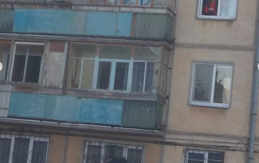 Обрушившийся дом в Магнитогорске. Фото  instagram.com/massagist_magnitogorsk