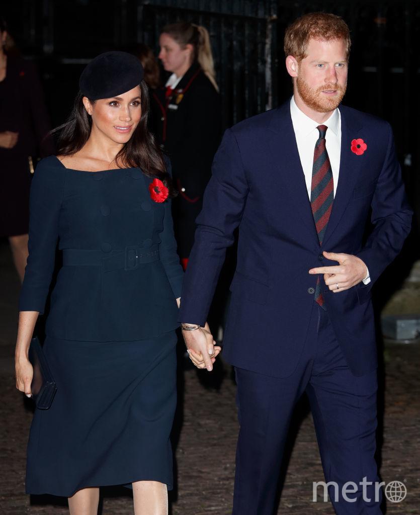 Принц Гарри с женой Меган Маркл. Фото Getty