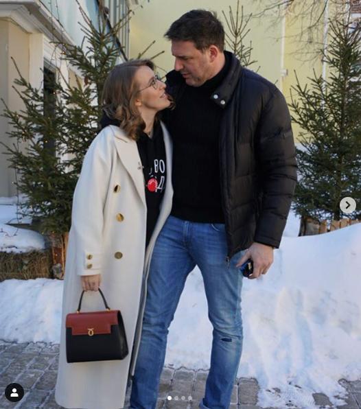 Ксения Собчак и Максим Виторган. Фото www.instagram.com/xenia_sobchak