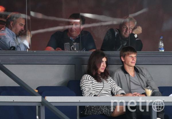 Андрей Аршавин и Алиса Казьмина. Фото РИА Новости