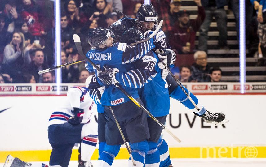 Сборная Финляндии обыграла США в финале МЧМ-2019. Фото AFP