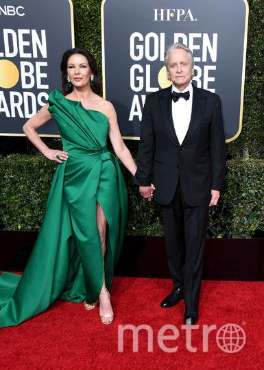 Майкл Дуглас и Кэтрин Зета-Джонс. Фото Getty