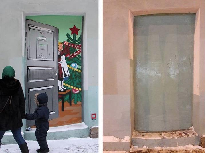 В Петербурге закрасили стрит-арт, автором которого являлся Павел Кас. Фото скриншот www.instagram.com/pashacas/