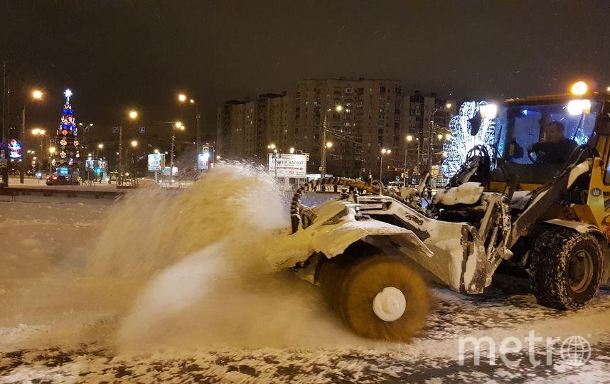 Петербуржцы недовольны качеством уборки снега. Фото www.gov.spb.ru