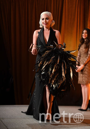 Леди Гага на премии Национального совета кинокритиков США. Фото AFP