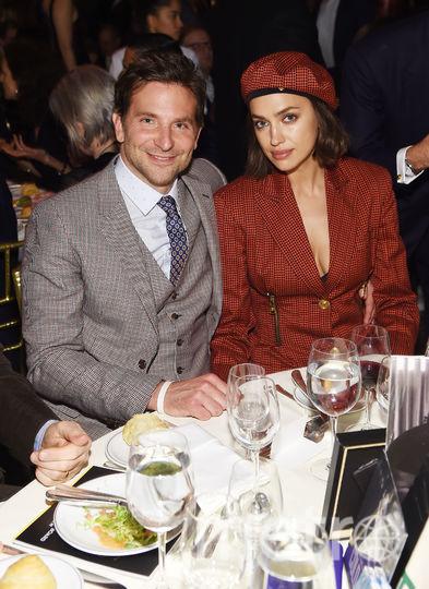 Брэдли Купер и Ирина Шейк. Фото AFP
