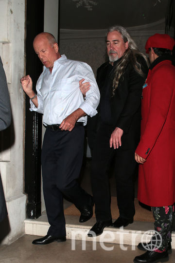 Подвыпивший Брюс Уиллис попал на фото. Фото Getty
