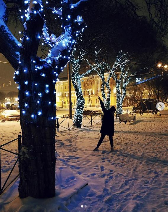 Снежная сказка: Петербуржцы делятся зимними фото в Instagram. Фото Скриншот Instagram: @danuishto