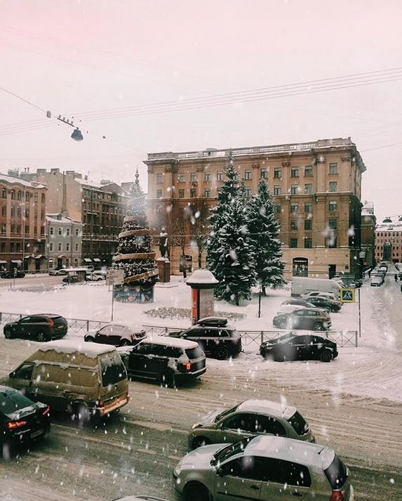 Снежная сказка: Петербуржцы делятся зимними фото в Instagram. Фото Скриншот Instagram: @dastomash