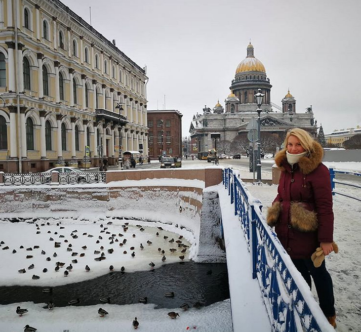 Снежная сказка: Петербуржцы делятся зимними фото в Instagram. Фото Скриншот Instagram: @svetlanakuzminamakeup