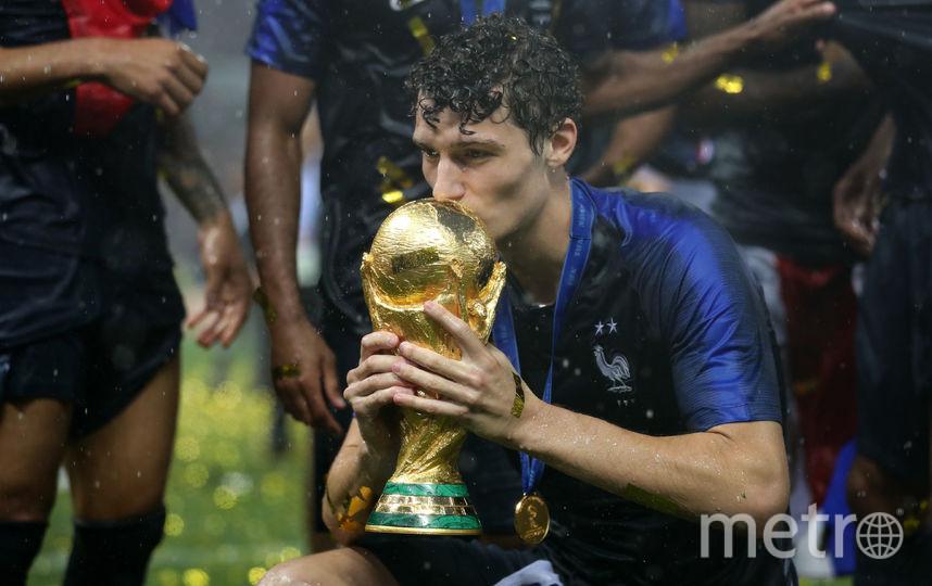 В составе сборной Франции Павар выиграл чемпионат мира. Фото Getty