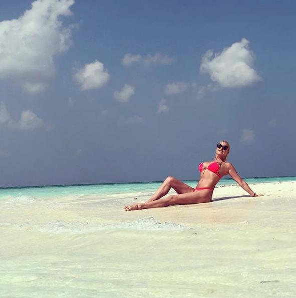 Волочкова на Мальдивах, 2019-й год. Фото скриншот https://www.instagram.com/volochkova_art/?hl=ru