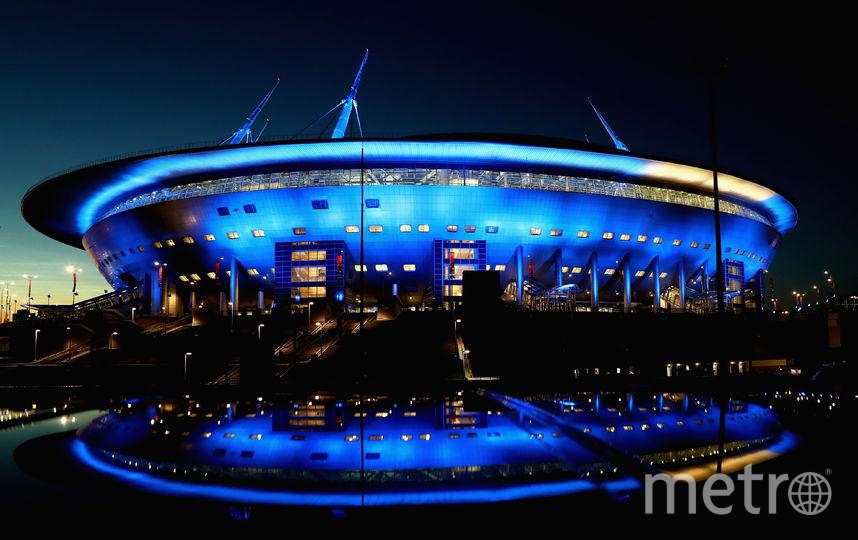 Футбольный стадион в Санкт-Петербурге. Фото Getty