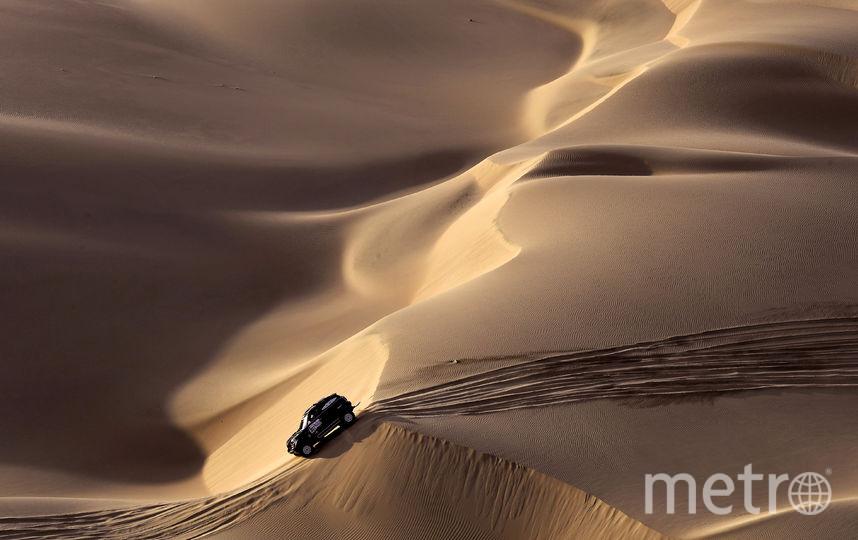 Общая протяжённость маршрута - 5172 км. Фото AFP