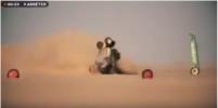 Появилось видео жуткой аварии Сергея Куприянова на ралли в Африке