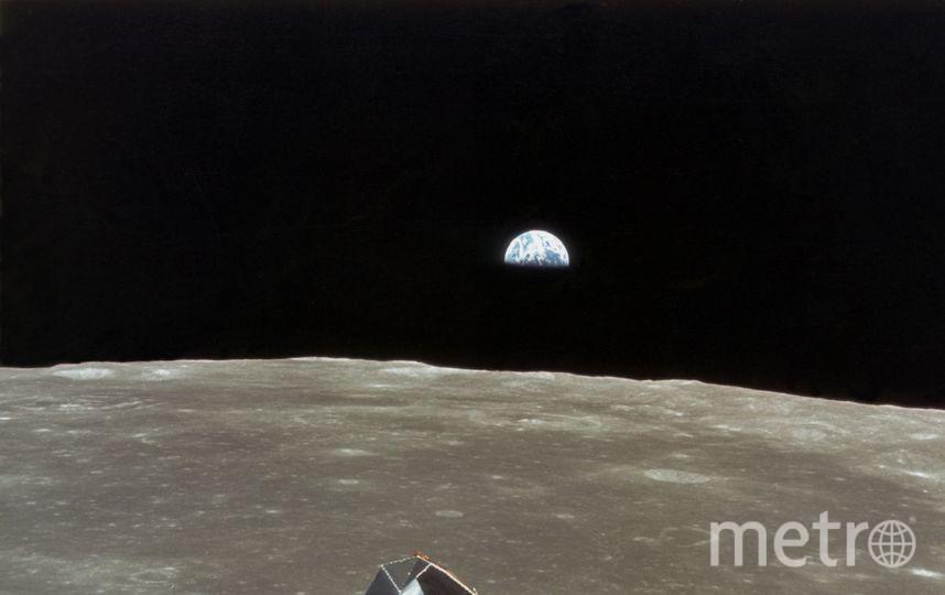 Луна –  пятый по величине спутник Солнечной системы. Фото Getty
