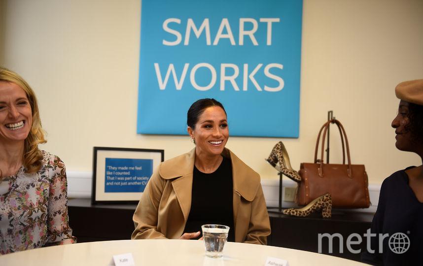 Меган Маркл в офисе Smart Works. Фото Getty