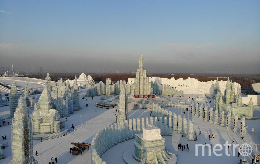 Фестиваль в Харбине. Фото AFP