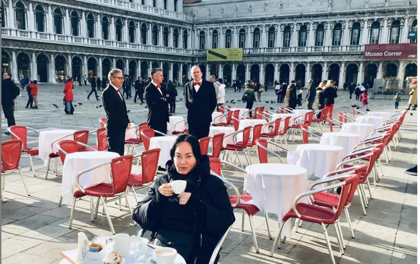 Лариса Гузеева провела выходные в Италии. Фото instagram.com/_larisa_guzeeva_
