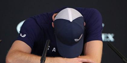 Теннисист Энди Маррей заплакал на пресс-конференции