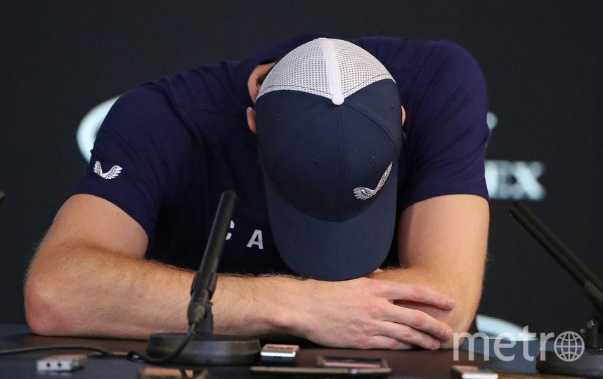 Энди Маррей не смог сдержать слез. Фото Getty