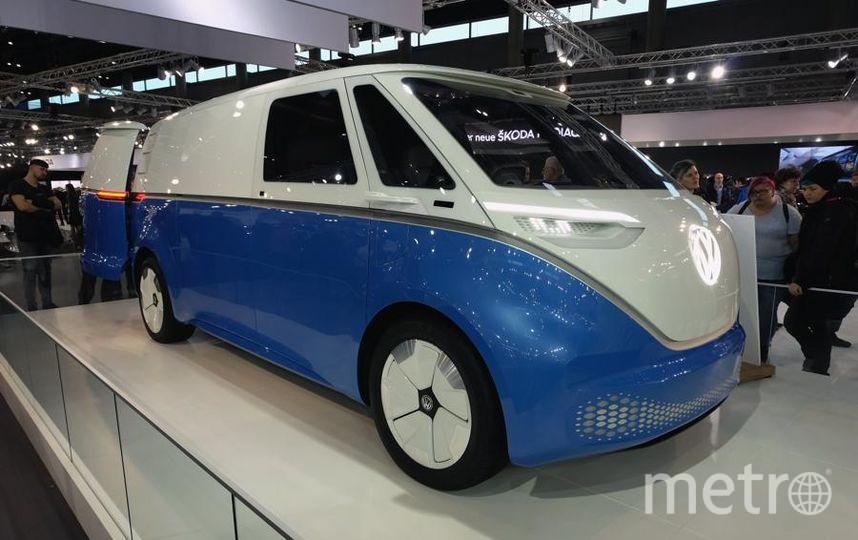 Автосалон в Вене (Vienna Autoshow 2019). Volkswagen I.D. BUZZ. Фото Getty