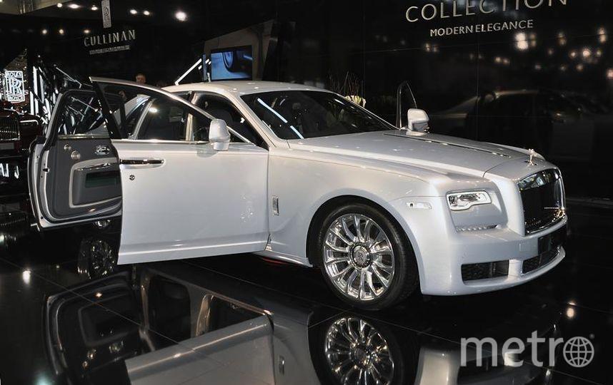 Автосалон в Вене (Vienna Autoshow 2019). Rolls Royce Silver Ghost. Фото Getty