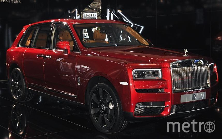 Автосалон в Вене (Vienna Autoshow 2019). Rolls Royce Cullinan. Фото Getty