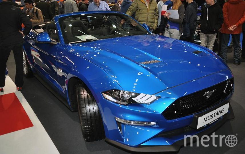 Автосалон в Вене (Vienna Autoshow 2019). Ford Mustang. Фото Getty