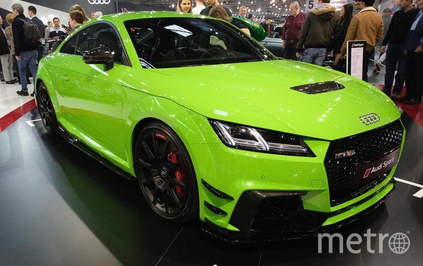 Автосалон в Вене (Vienna Autoshow 2019). Audi TT. Фото Getty