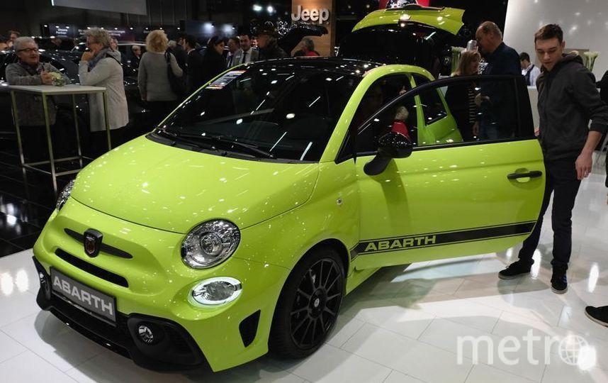 Автосалон в Вене (Vienna Autoshow 2019). Fiat Abarth. Фото Getty