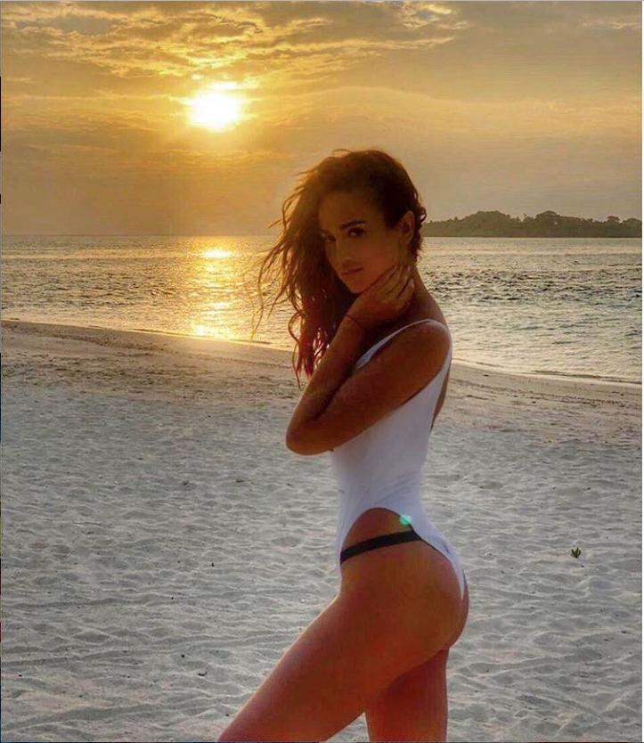 Ольга Бузова на Мальдивах. Фото instagram.com/buzova86