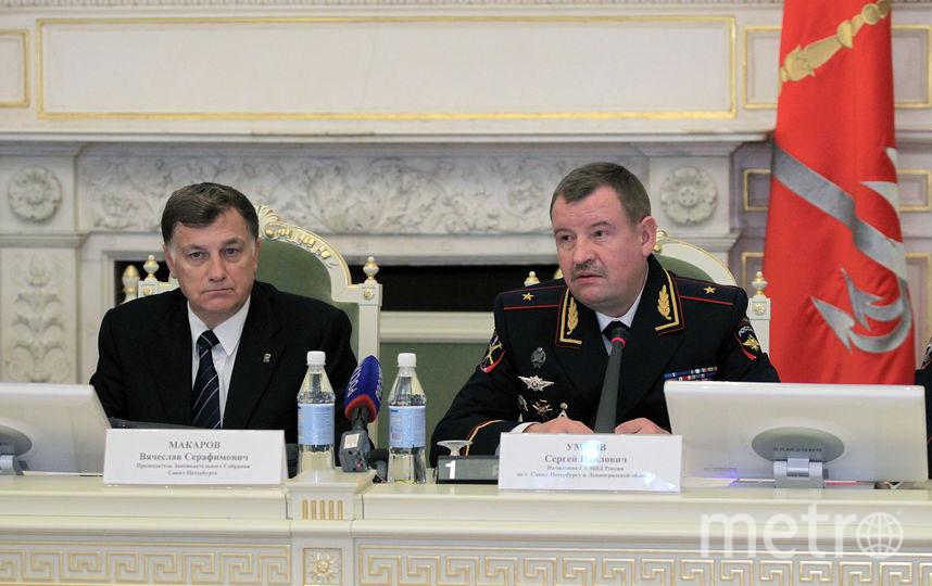 Председатель ЗакСа и Умнов. Фото assembly.spb.ru