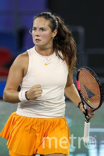 На турнирах серии «Большого шлема» лучшим результатом Касаткиной был четвертьфинал. Фото Getty