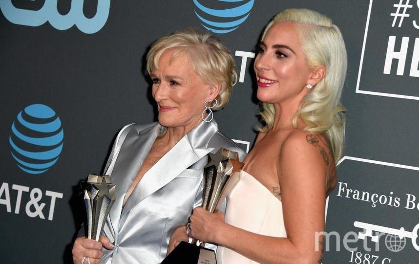 Critics' Choice Awards-2019. Гленн Клоуз и Леди Гага. Фото Getty