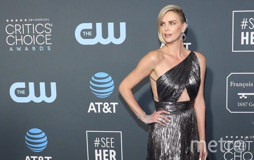 Critics' Choice Awards-2019. Шарлиз Терон. Фото Getty