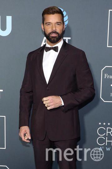 Critics' Choice Awards-2019. Рикки Мартин. Фото Getty