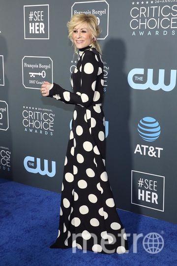 Critics' Choice Awards-2019. Джудит Лайт. Фото Getty