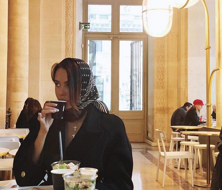 Анастасия Решетова. Фото Скриншот Instagram: @volkonskaya.reshetova