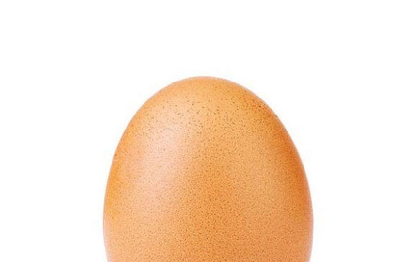 Новый рекорд по лайкам принадлежит фотографии обычного яйца. Фото Скриншот https://www.instagram.com/world_record_egg/