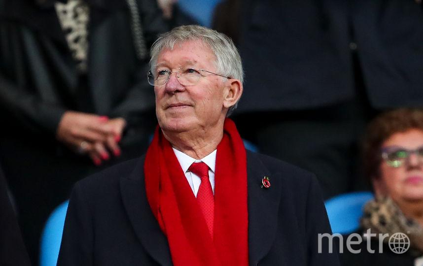 """Бывший главный тренер """"Манчестер Юнайтед"""" Алекс Фергюсон. Фото Getty"""
