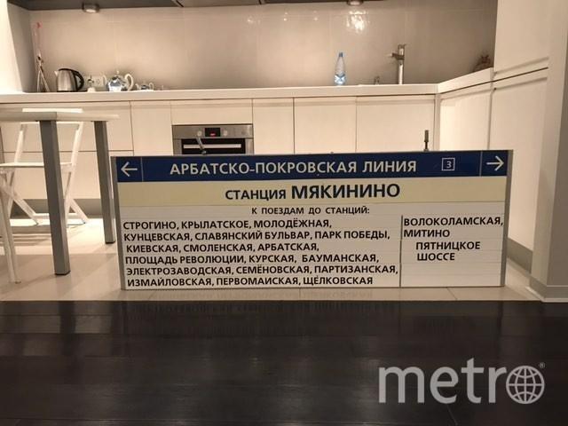 Несветовой указатель. Фото Фото Романа Нилова.