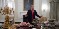Трамп накрыл щедрый стол в Белом доме: фото, после которых вам немедленно захочется есть