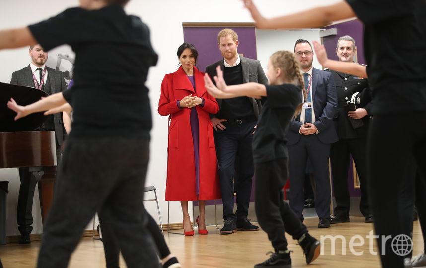 Прин Гарри и Меган Маркл в Биркенхеде. Фото Getty