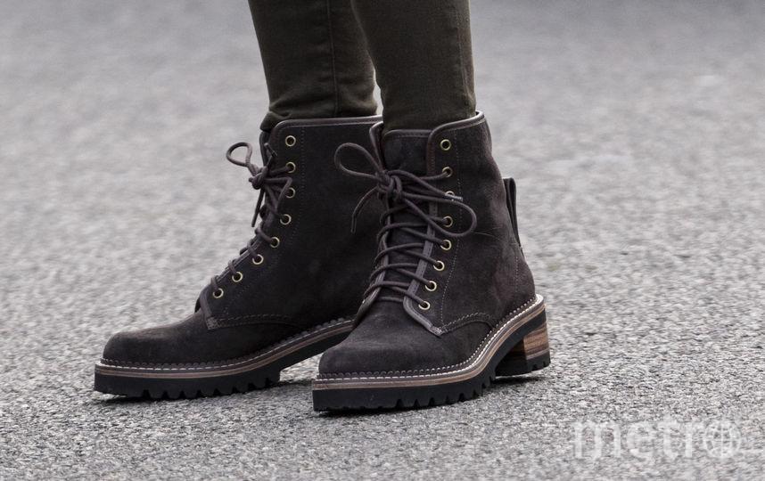 Замшевые ботинки Mozart бренда See by Chloе. Фото Getty