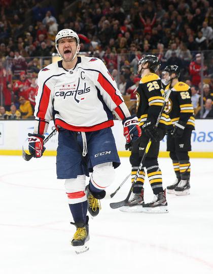 Овечкин – главная российская звезда в НХЛ. Фото Getty