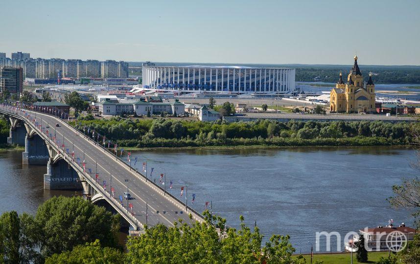 Нижний Новгород. Вид на стадион (архивное фото). Фото https://pixabay.com/