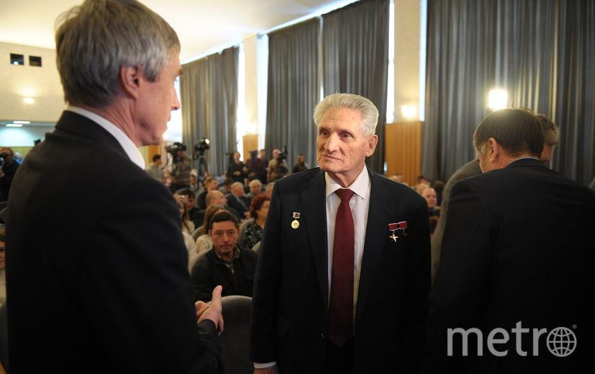 """Борис Волынов рассказал, как космонавты справляются со стрессом. Фото Игорь Генералов, """"Metro"""""""